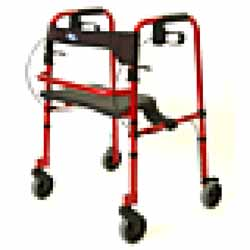 Rollite Rollator Red